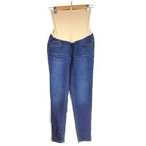 INDIGO BLUE | Maternity Skinny Jeans